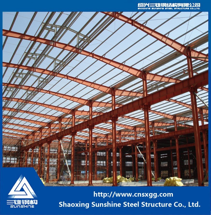 Welded Prefabricated Building with Building Material for Warehouse