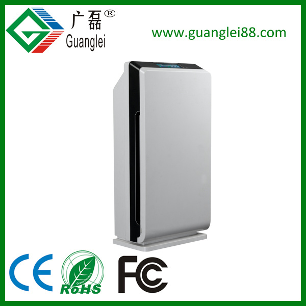 CE RoHS FC Ozone, Ion, UV, HEPA and Active Carbon Home Air Purifier Gl-8128