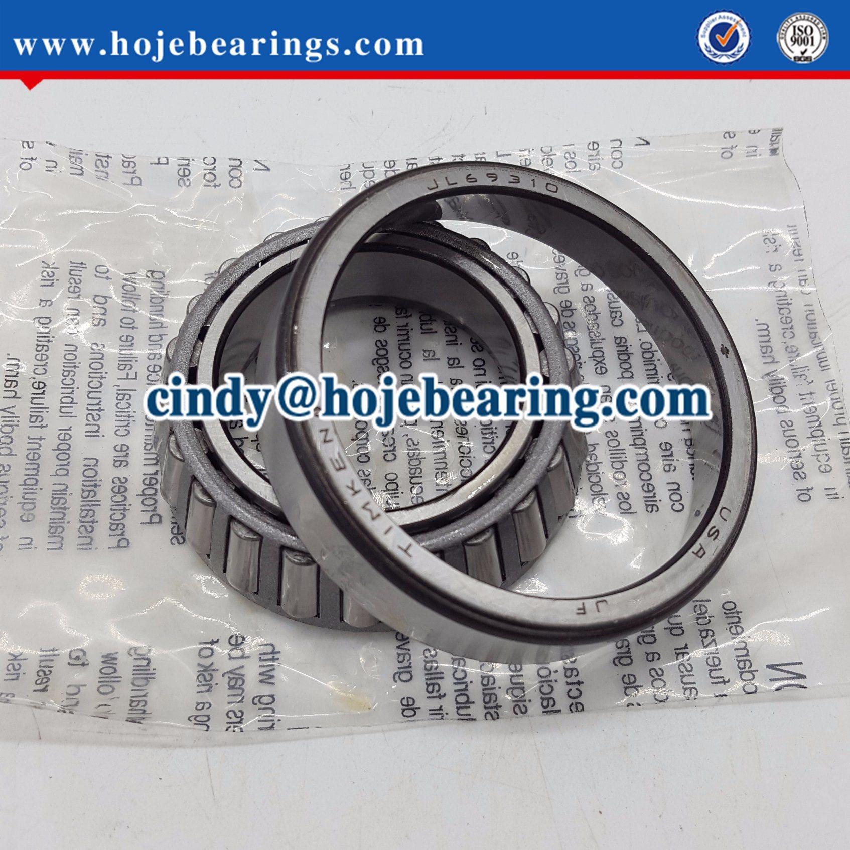 Jl69349/Jl69310 Taper Roller Bearing Set Taper Wheel Bearing