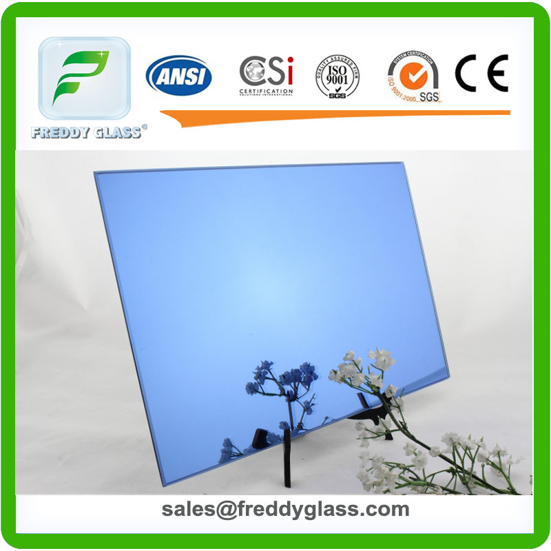 1.5mm-6mm Ford Blue Tinted Decorative Mirror