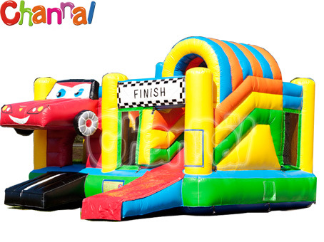 Auto Inflatable Bouncer Slide/Kids Inflatable Air Trampoline (Bb027)
