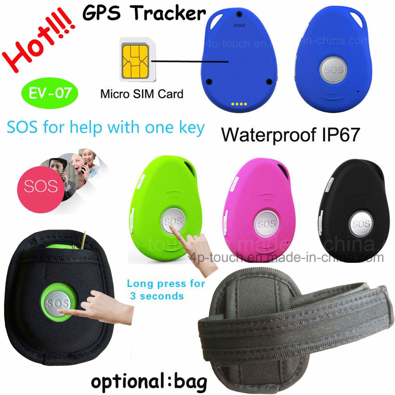 Long Standby Mini Portable GPS Tracker for Person (EV-07)
