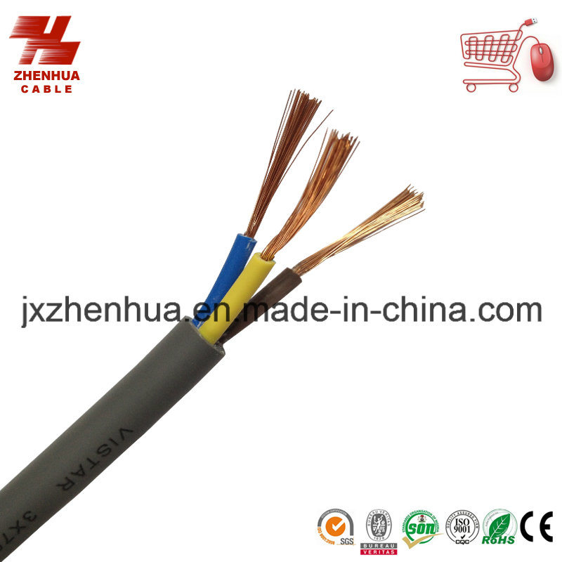 H05VV-F 3X1.5mm 3X2.5mm Flexible Cable Made in Turkey