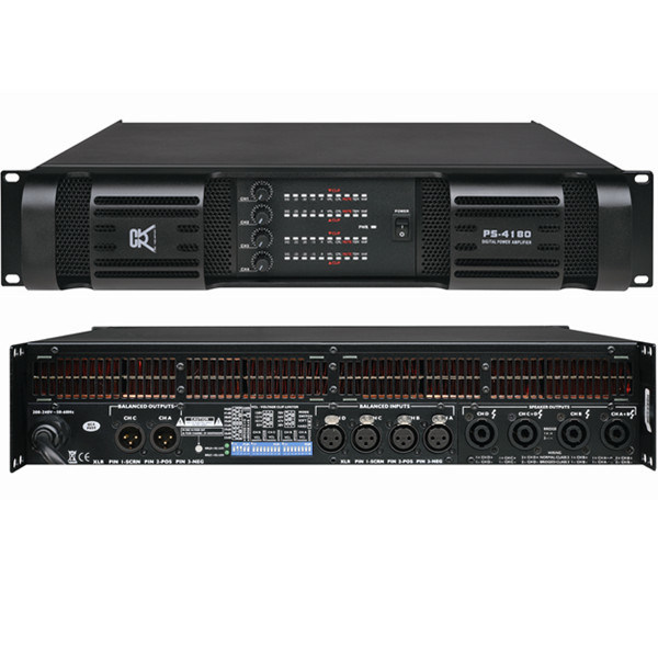 Powered Mixer High Power PA/Guitar Amplifiers (PA-4180)