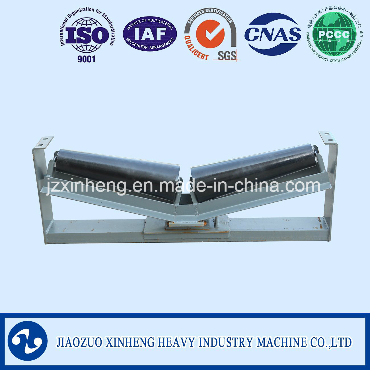 Trough Conveyor Roller / Belt Conveyor Idler Group