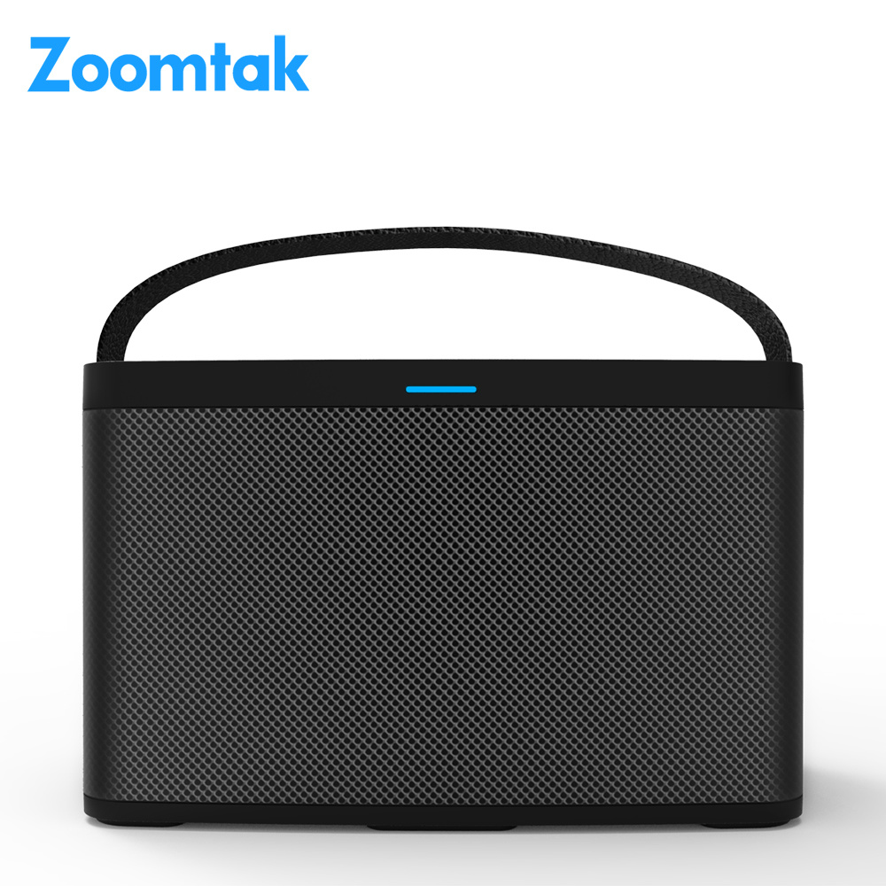 2018 New Arrival Voice Controlled Amzon Alexa Smart Professional Active Loud Wireless Mini Bluetooth Speaker