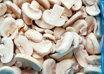 Frozen Button Mushroom Slices