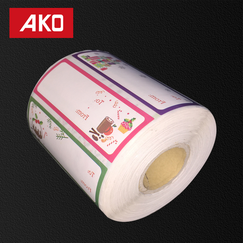 OEM Coated Paper Layer Holt Melt for Low Temperature 50g Glassine Liner Self Adhesive Sticker