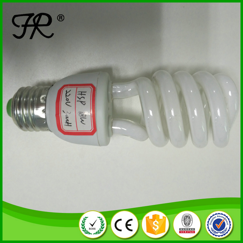 High Quality 12mm 18W Spiral LED Energy Saving Lamp