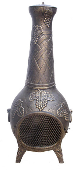 Chimenea, Outdoor Heater, Cast Iron Chiminea (FSL-001)