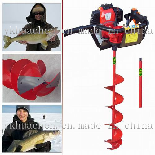 Bz520 Fishing Ice Auger Ice Drill Frozen Land Drill (52cc)