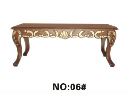 Mesa de centro cl sica de wood para home furniture yf d6 for Mobilia domestica