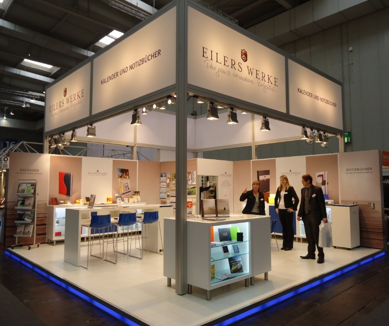Aluminum Modular Maxima System Exhibition Booth Display Stand