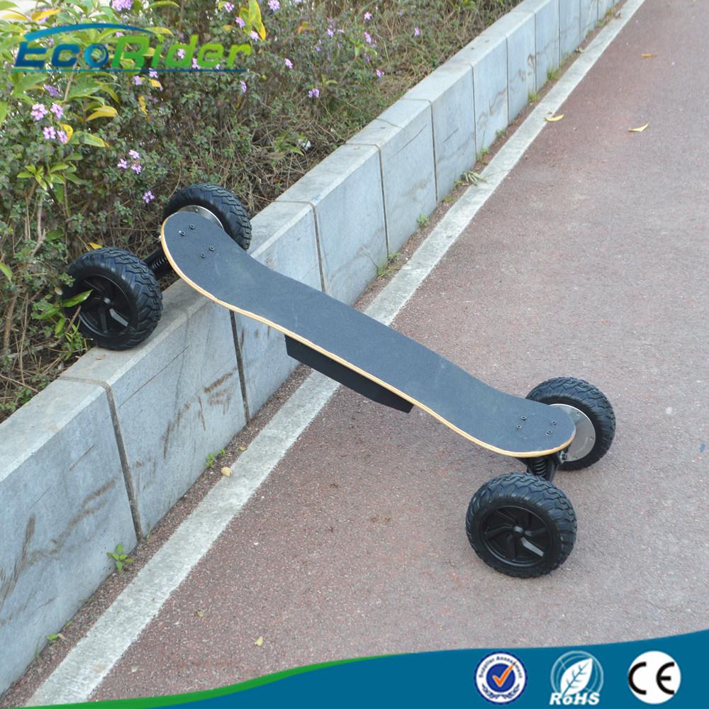 High Speed off Road Four Wheels Electric Skateboard 30km/H 1800 Watt