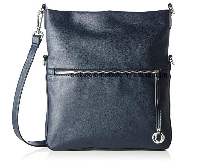 New Fashion PU Cover Folding Crossbody Bag Imitation Leather Bag