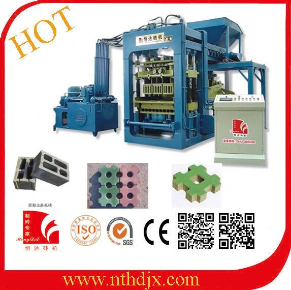 Factory Sale Hydraulic Automatic Concrete Block Making Machine (QT6-15)