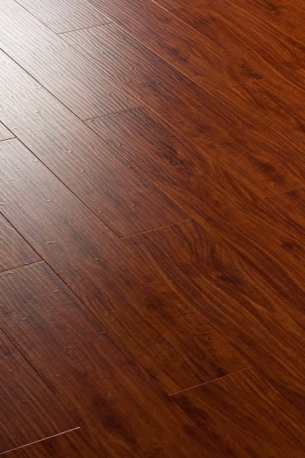handscraped laminate floor