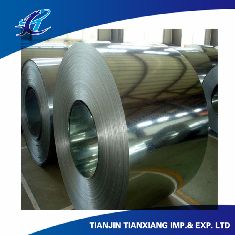 Commercial Quality Flat Products Hot Dipped Galvanized Steel Coil