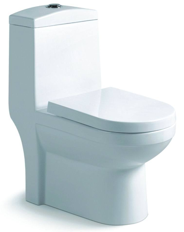 High Quality Chaozhou Factory Seat Toilet Ceramic (S7553)