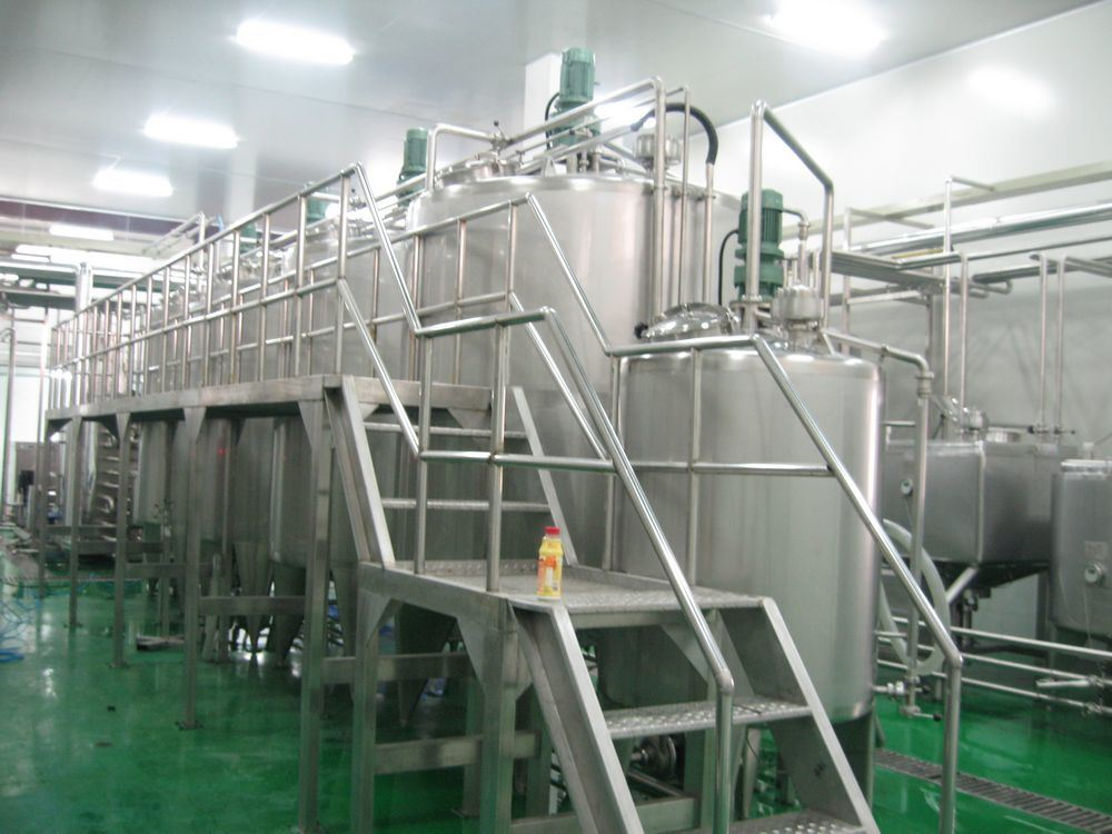 Complete Beverage Production Line (1-40TPH)