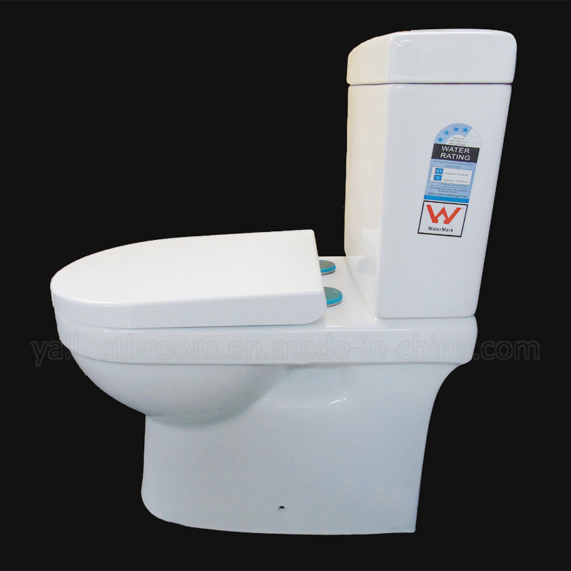 Watermark Sanitary Ware Two Piece Washdown Ceramic Toilet