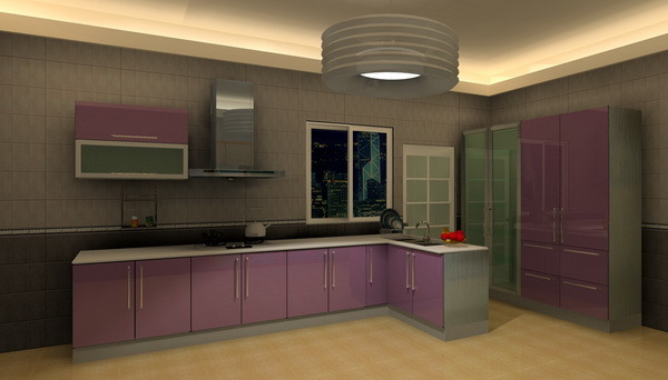 Stainless Steel Kitchen Cabinet MK045 China Kitchen Furniture