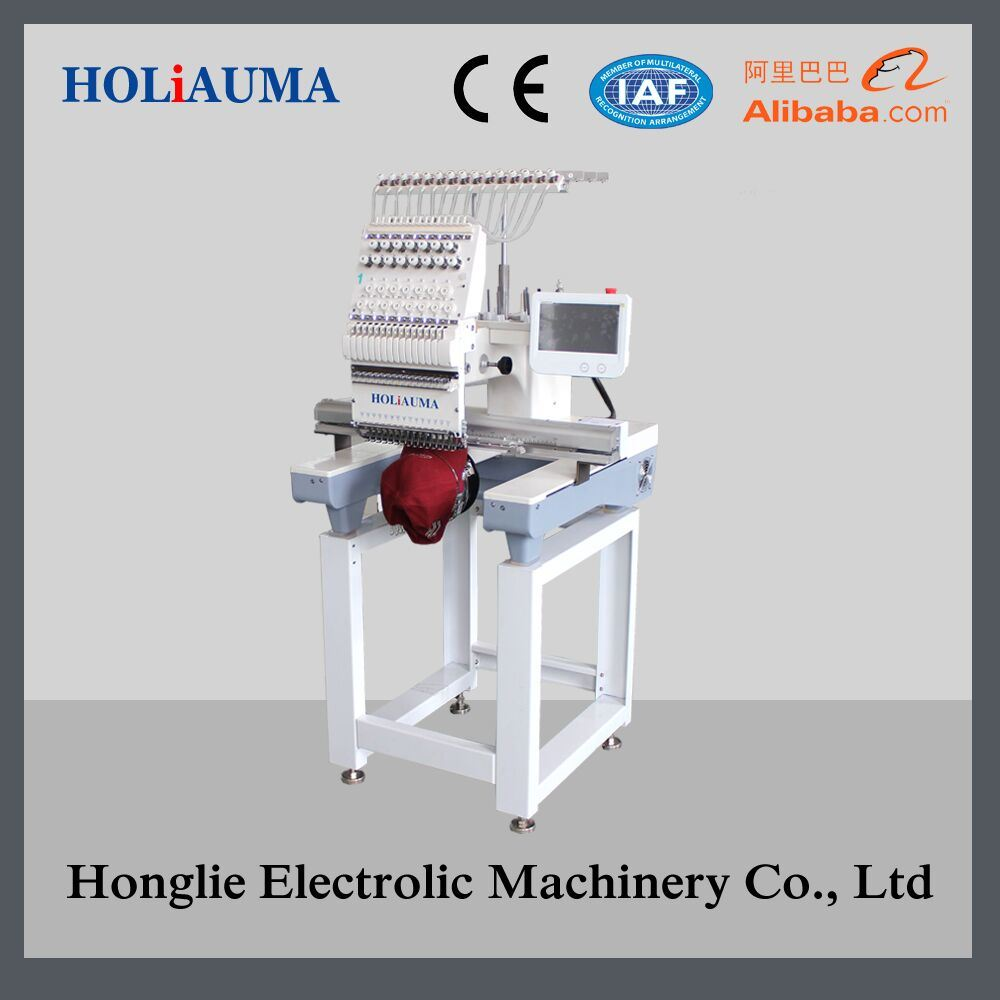 1 Head Cap Embroidery Machine Computerized 3D Embroidery Machine
