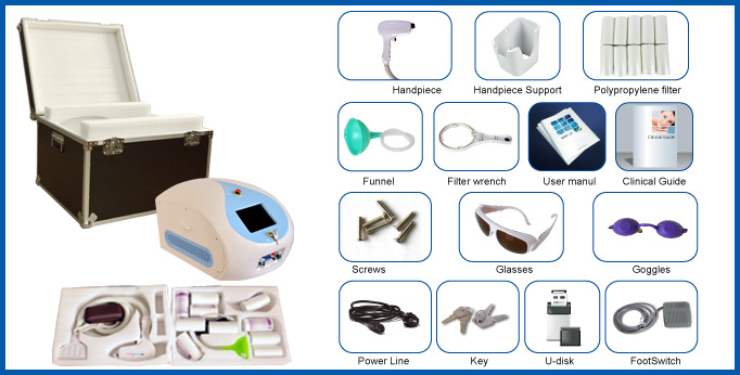 Professional Elight IPL Shr 808nm Diode Laser Hair Removal Machine