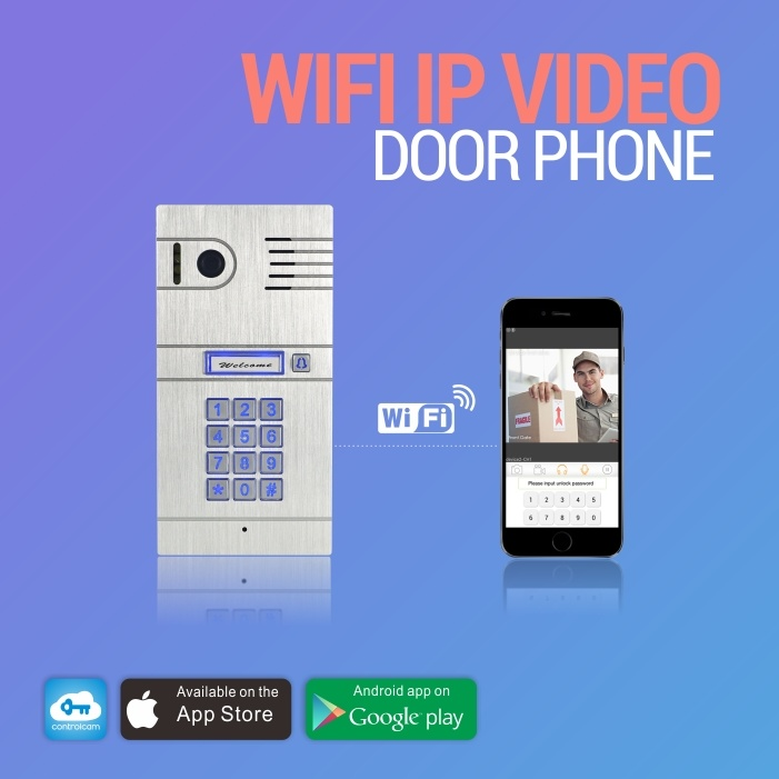 Wireless Video Doorbell with Camera