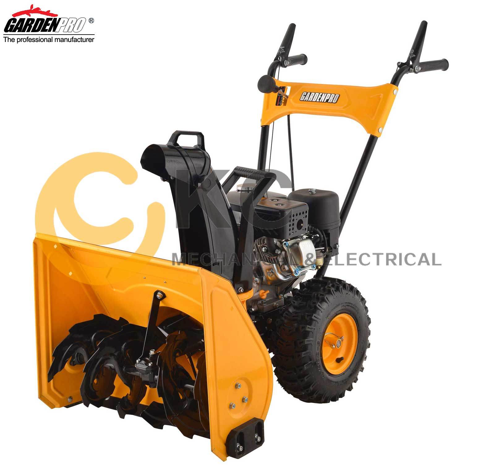 "Hot Sell! Snow Thrower with 24""Clearing Width in Simple Functin Operation (KCM24)"