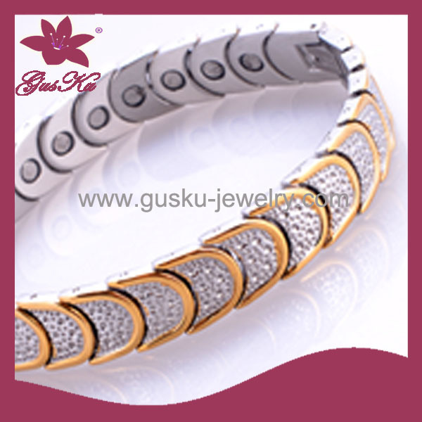 Fashion Stainless Steel Magnetic Jewelry (2015 Gus-STB-234)