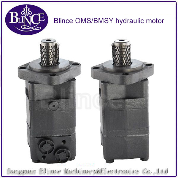Four-Hole/Two-Hole Omsy Oms125 Orbit Hydraulic Motor for Weeding Machinery