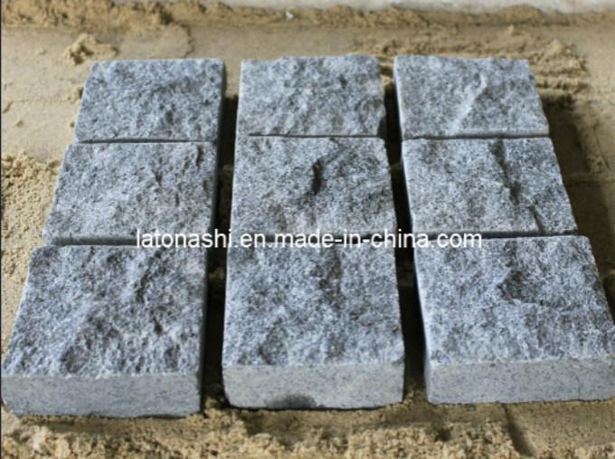 Natural Granite Cobblestone/Cube Stone/Paving Stone