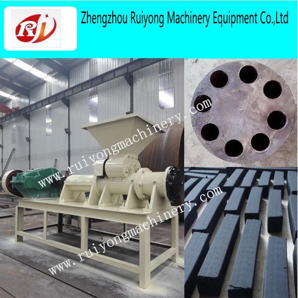 Hot Sale Coal Briquette Machine/Charcoal Briquette Rod Extruder