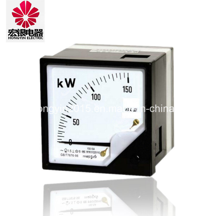 6L2-W/Var CE Approval Active Analog Panel Power Meter