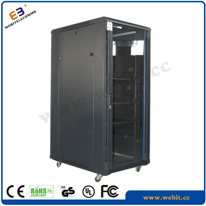"""19"""" Universal Type Network Cabinet with with Beading Decoration"""