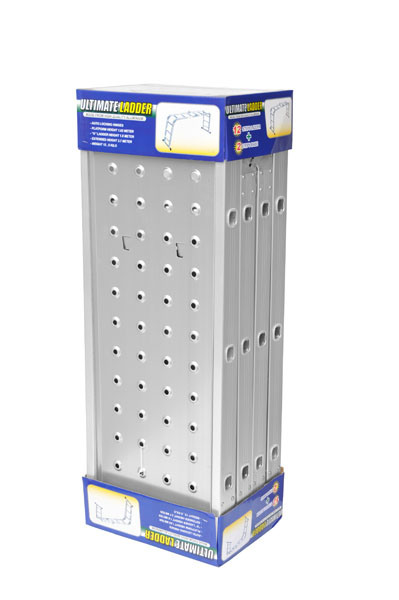 4*3 Aluminum Multi-Purpose Ladder by CE/En131 Approved