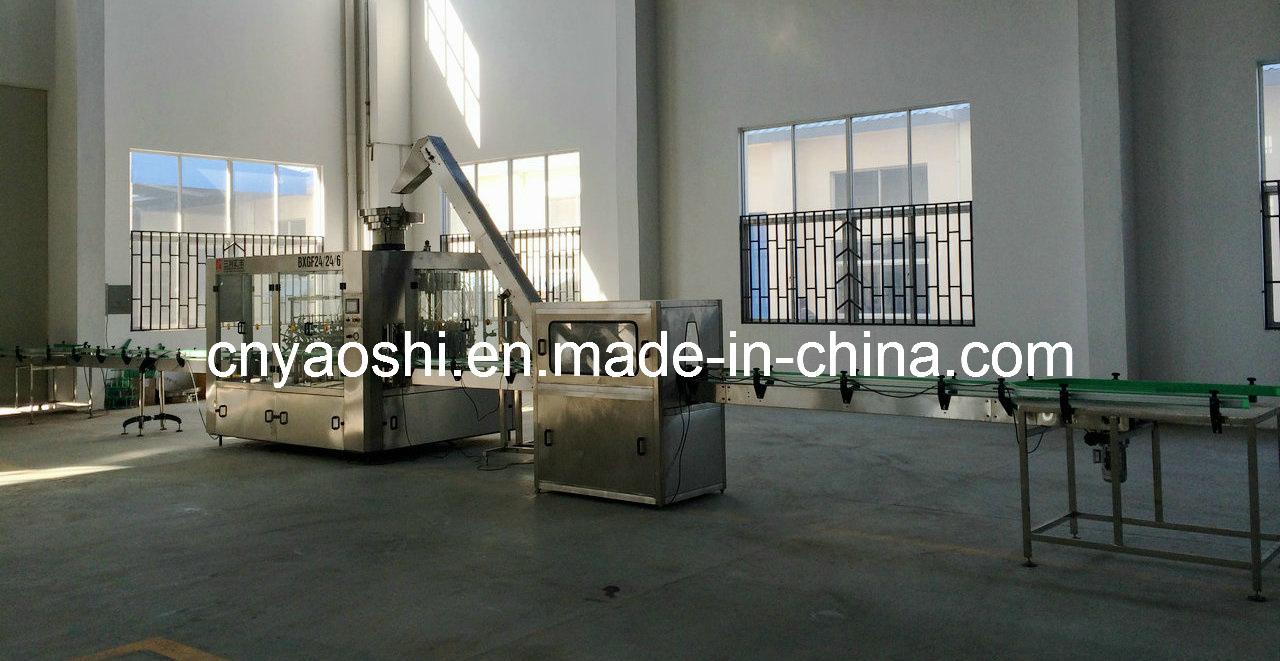 Glass Bottling Machine, Liquor Glass Bottling Machinery, Alcohol Glass Bottle Filling Machinery