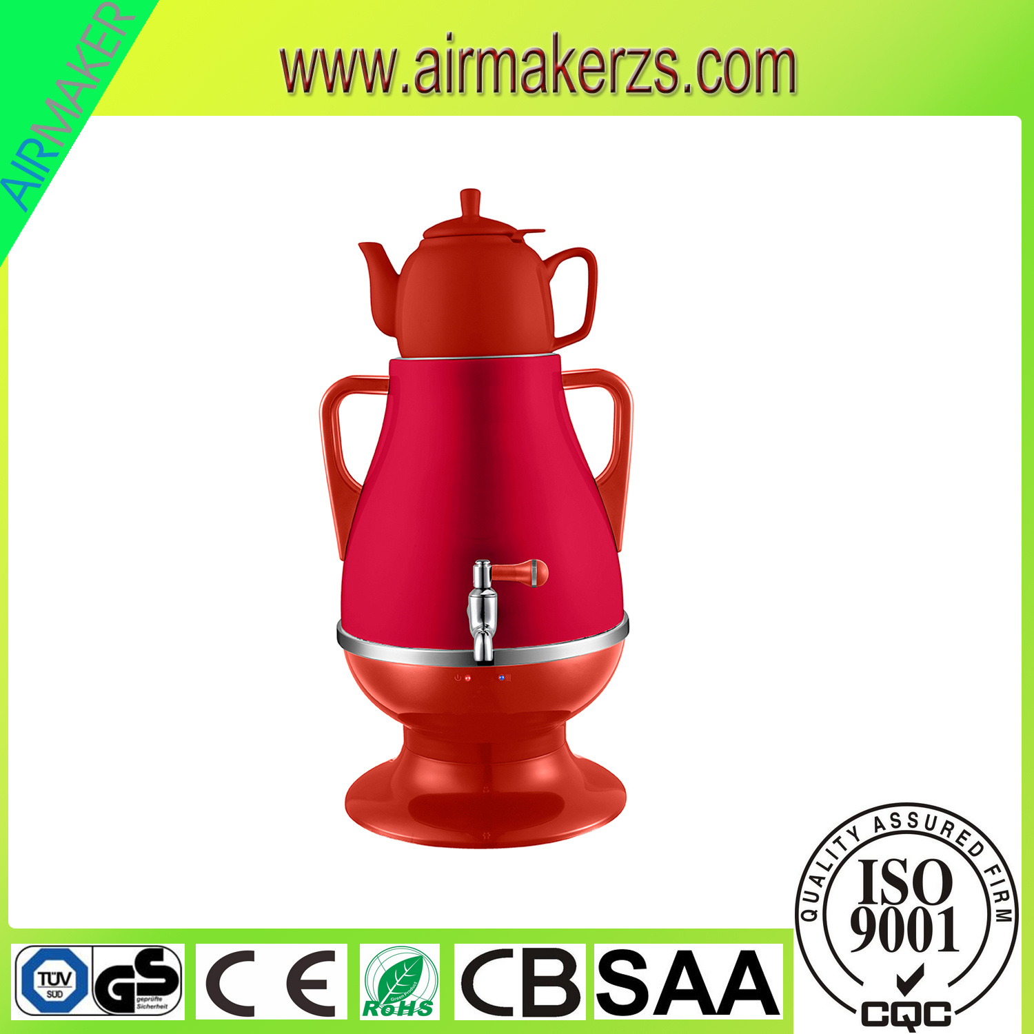 2017 New Home Appliance Electric Samovar for Russia Market