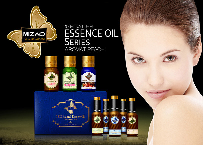 100% Natural Essence Oil Set with 5PCS