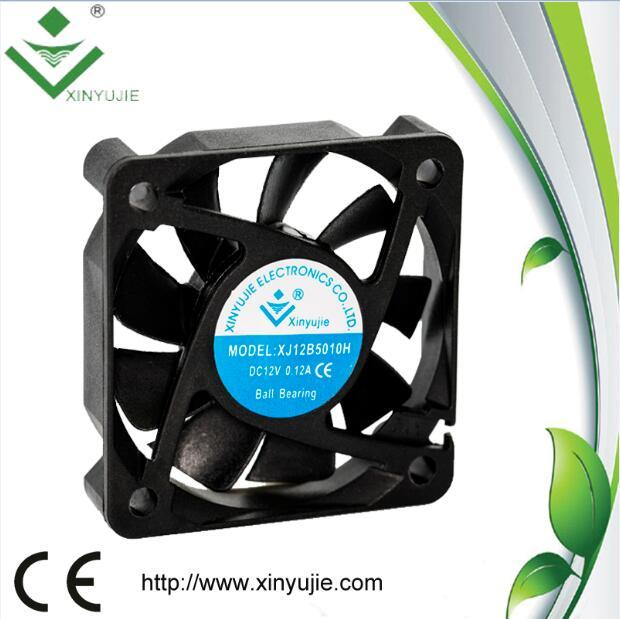 50*50*12mm DC Cooling Fan 2016 Hot Plastic Fan Made in China