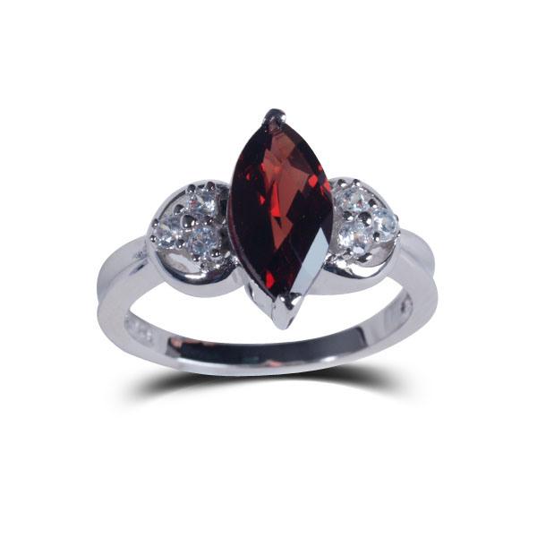 Fashion Jewelry Natural Stone Memorial Atmospheric Wedding Rings