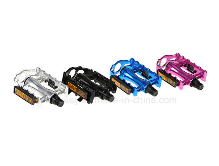 Slip-Resistant Bicycle Parts Bicycle Aluminum Alloy Pedal with Reflector