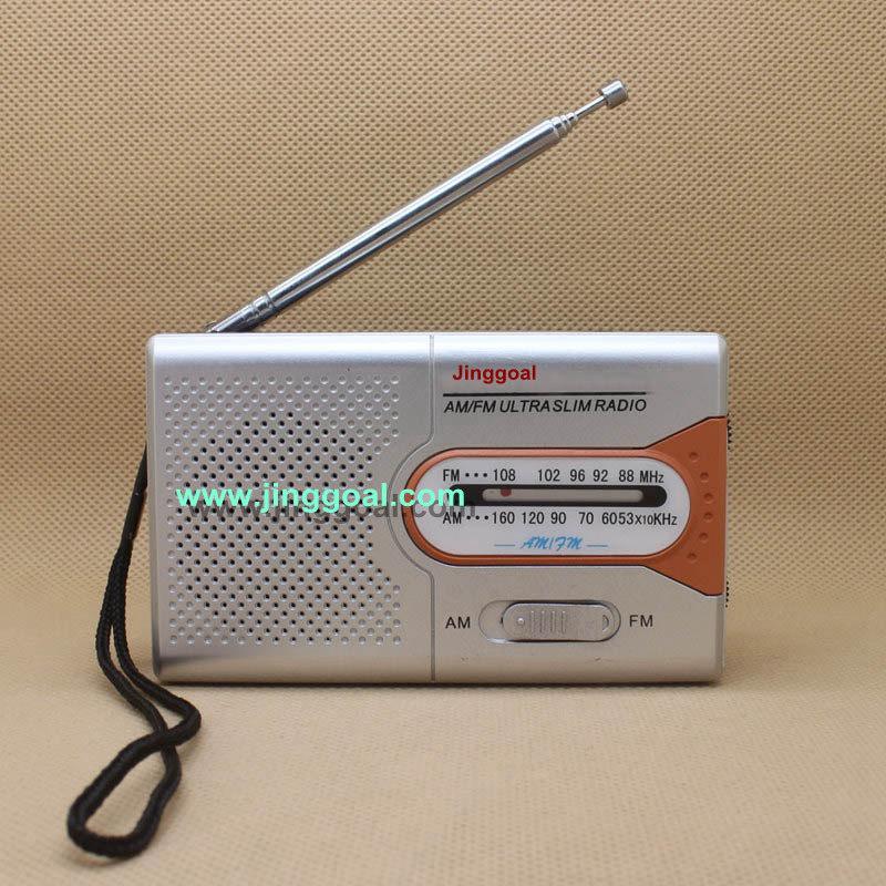 Mini Am FM 2 Band Radio