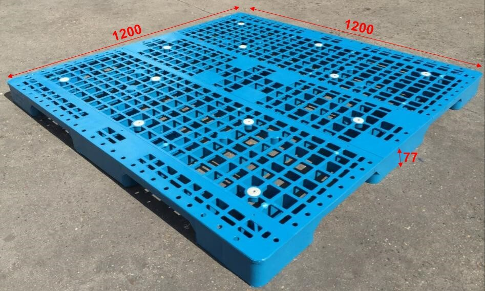 1200X1200X77 Cheap Plastic Pallet Plastic Plate for Warehouse Storage