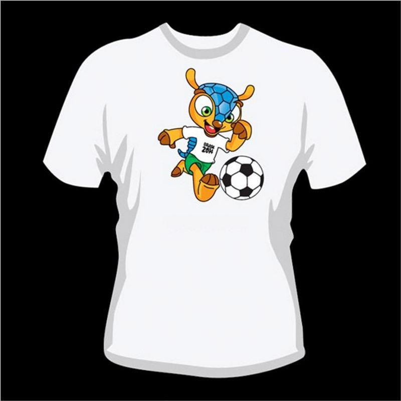 Short Sleeve Advertising T-Shirt in White