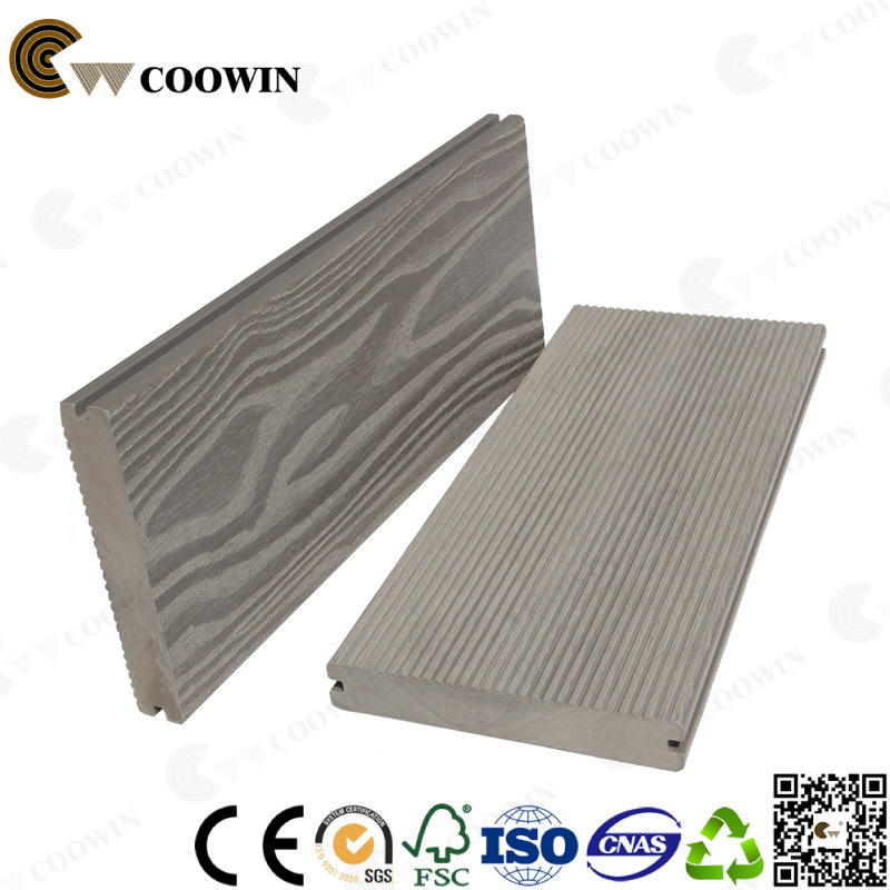 Building Material Outdoor Decorative Solid WPC Decking, Flooring WPC (TW-K03)