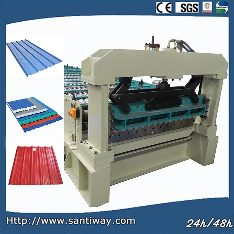 Roof Tile Cold Roll Forming Machine for USA Stw900