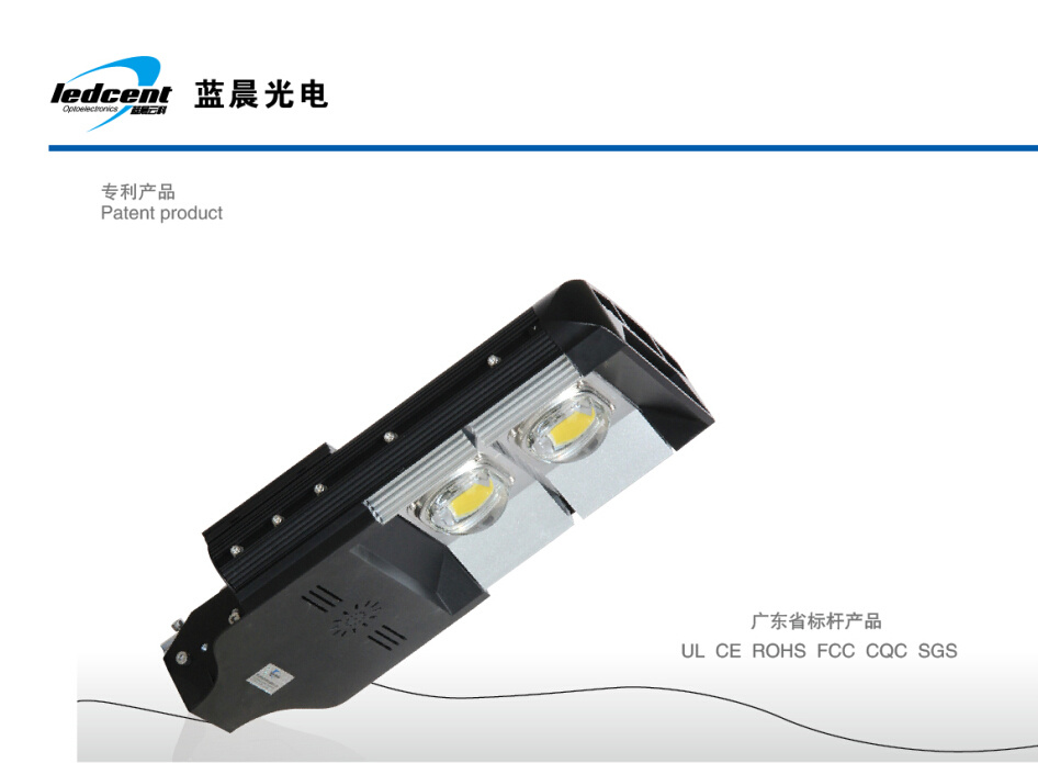 110W LED Street Lamp, High Bright Bridgelux Chip, Meanwell Driver