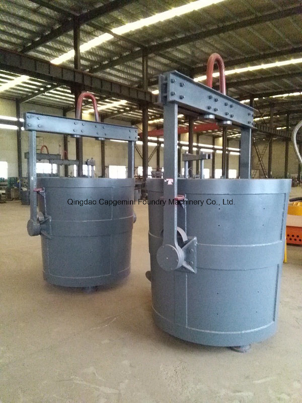 Steel Ladle for Bottom Pouring Type; Foundry Ladle Manufacturer